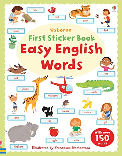9781782325338: First Sticker Book: Easy English Words