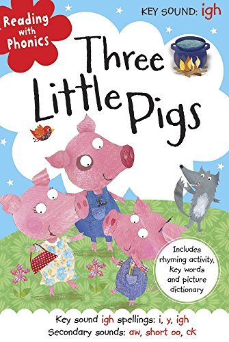 9781782350651: Three Little Pigs (Reading with Phonics) by Clare Fennell (Illustrated, 1 Sep 2013) Hardcover