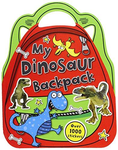 9781782354079: My Dinosaur Backpack: Shaped Sticker Activity Books