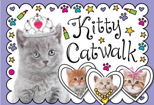 Kitty Catwalk Stationery Box: Rowbottom, Katie