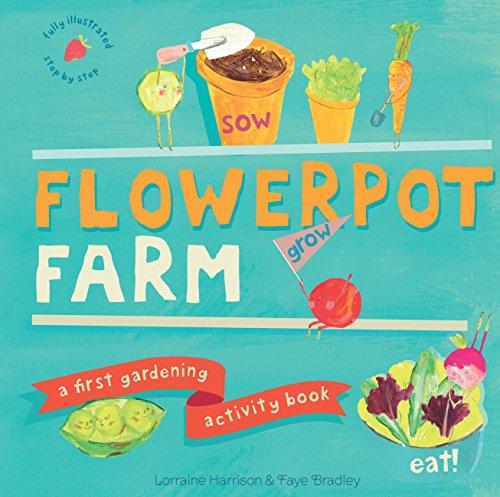 9781782400813: Flowerpot Farm: A First Gardening Activity Book