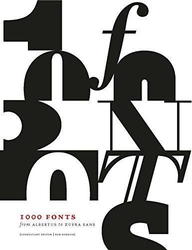 9781782402879: 1000 fonts