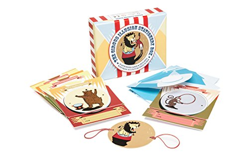 The Circus Illusion Stationery Box: 10 circus illusion cards with press out picture discs to spin: ...