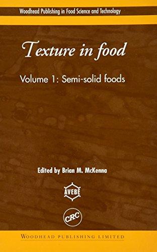 Texture in Food (Hardback): B. M. McKenna, David Kilcast