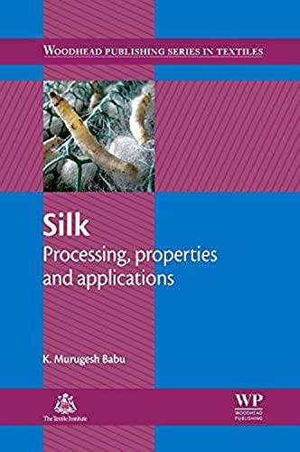 Silk Processing Properties And Applications: BABU