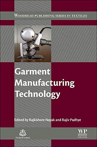 Garment Manufacturing Technology: Rajkishore Nayak