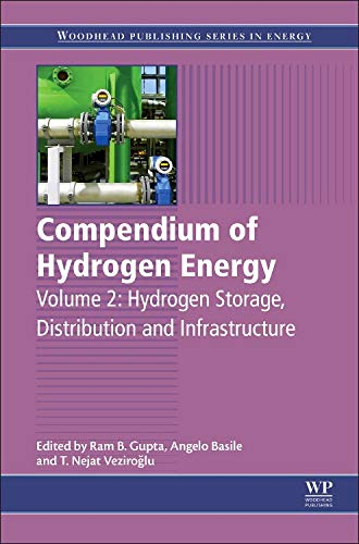 9781782423621: 2: Compendium of Hydrogen Energy: Hydrogen Storage, Distribution and Infrastructure (Woodhead Publishing Series in Energy)