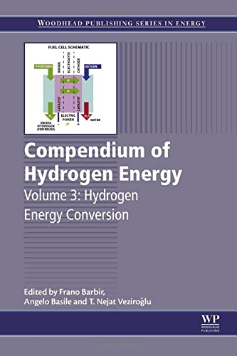 9781782423638: Compendium of Hydrogen Energy: Hydrogen Energy Conversion (Woodhead Publishing Series in Energy)