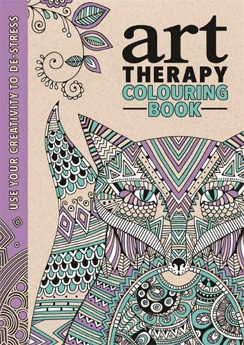 The Art Therapy Colouring Book with Faber-Castell