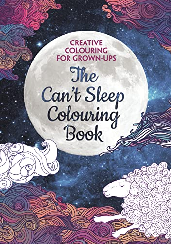 The Cant Sleep Colouring Book