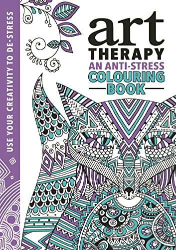 9781782434436: The Art Therapy Colouring Book