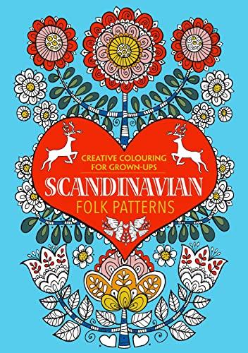 9781782434450 Scandinavian Folk Patterns Creative Colouring For Grown Ups