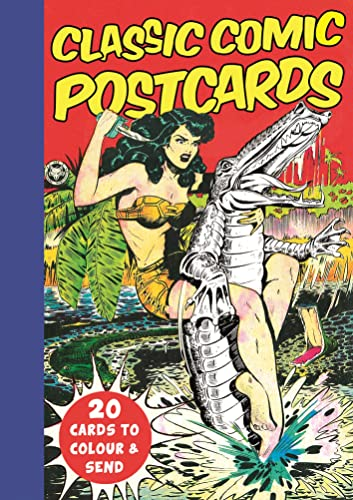 9781782435785: Classic Comic Postcards: 20 Cards to Colour & Send (Colouring Books)