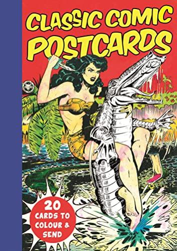 9781782435785: Classic Comic Postcards: 20 Cards to Colour & Send