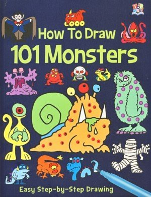 9781782443452: How To Draw 101 Funny Monsters