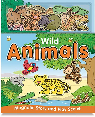 9781782445456: Wild Animals (Magnetic Story and Playscene Books)