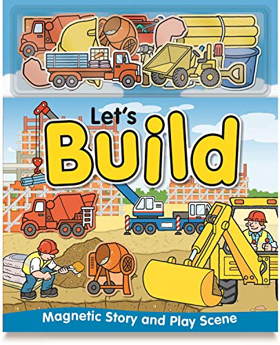 9781782445463: Let's Build (Magnetic Story and Playscene Books)