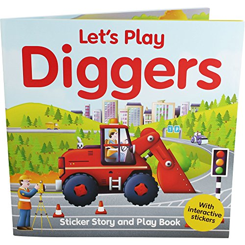9781782447818: Lets Play Diggers Sticker Fun
