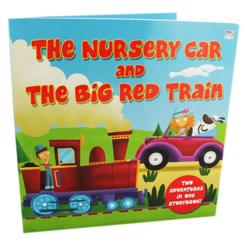 9781782447849: Nursery Car and The Big Red Train - 2 In 1 Picture Story Books