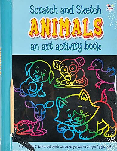 9781782449218: Animals (Scratch and Sketch)