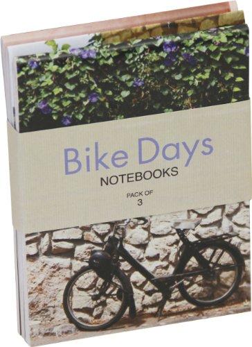 Bike Days Flip-top Mini Notebooks (pack of