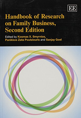 9781782540397: Handbook of Research on Family Business, Second Edition (Elgar Original Reference)