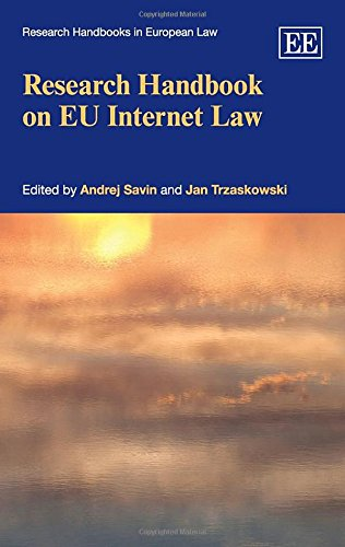 Research Handbook on Eu Internet Law: Savin, Andrej (EDT)/