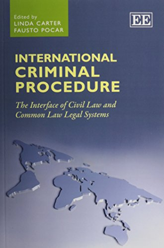 9781782544289: International Criminal Procedure: The Interface of Civil Law and Common Law Legal Systems