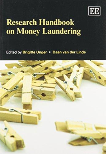 9781782545873: Research Handbook on Money Laundering (Elgar Original Reference)