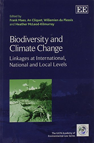 9781782547051: Biodiversity and Climate Change: Linkages at International, National and Local Levels