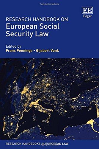 9781782547327: Research Handbook on European Social Security Law (Research Handbooks in European Law series)