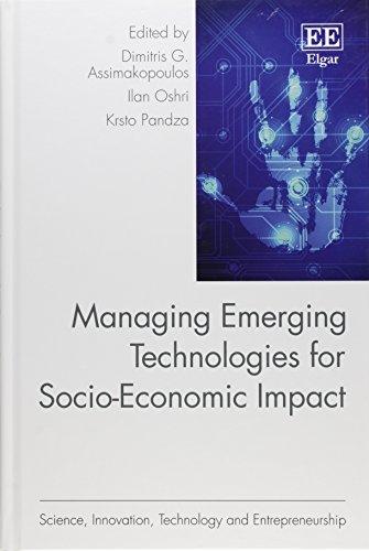 9781782547877: Managing Emerging Technologies for Socio-Economic Impact (Science, Innovation, Technology and Entrepreneurship series)