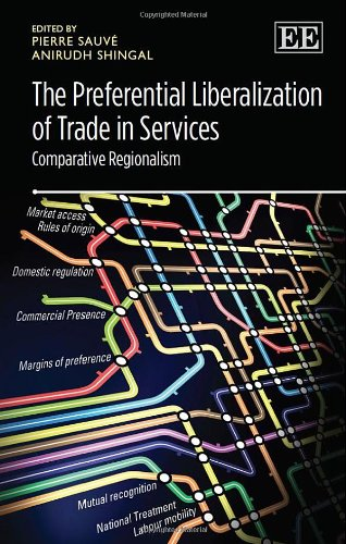 9781782548959: The Preferential Liberalization of Trade in Services: Comparative Regionalism