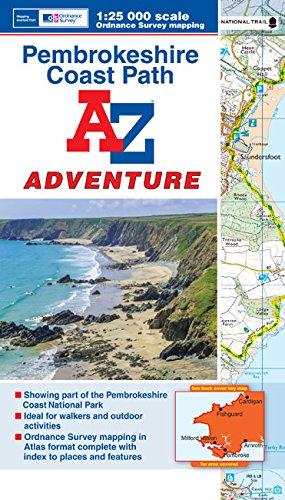 9781782570363: Pembrokeshire Coast Adventure Atlas