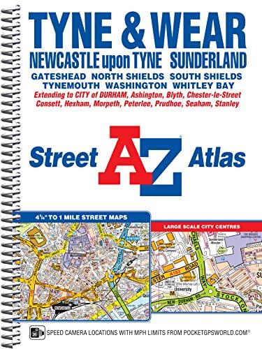 9781782570486: Tyne & Wear Street Atlas