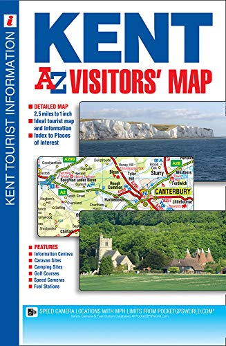 9781782570493: Kent Visitors Map