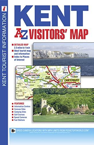 9781782570493: Kent Visitors Map (A-Z Road Map)