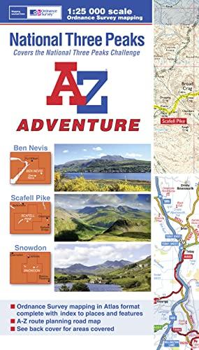 National Three Peaks Adventure Atlas (A-Z Adventure): Geographers A-Z Map Co. Ltd.