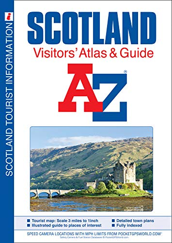 9781782570646: Scotland A-Z Visitors' Atlas & Guide (Visitors Maps & Atlases) (A-Z Premier Street Maps)