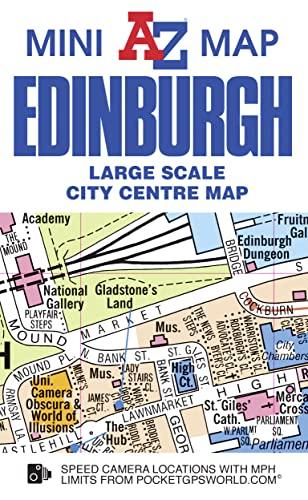 Edinburgh Mini Map: Geographers A-Z
