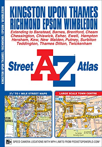 Kingston Upon Thames & Richmond Street Atlas: GEOGRAPHERS A-Z