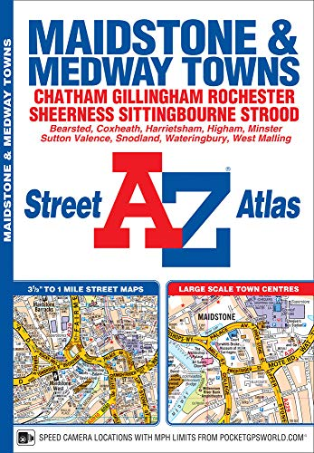A-Z Maidstone & Medway Towns (Street Atlas): NA