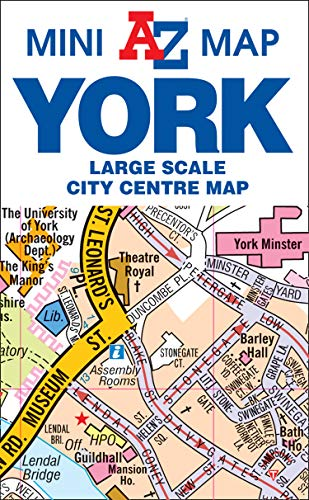 9781782572640: York Mini Map (Street Atlas)