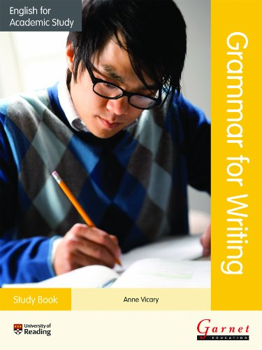9781782600701: English for Academic Study Grammar for Writing - Study Book