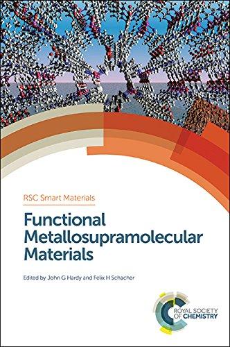 9781782620228: Functional Metallosupramolecular Materials (Smart Materials Series)