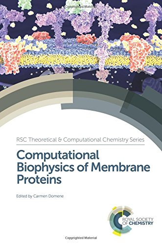 9781782624905: Computational Biophysics of Membrane Proteins (Theoretical and Computational Chemistry Series)