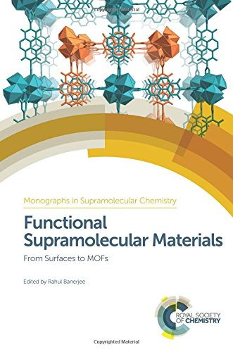 Functional Supramolecular Materials: From Surfaces to Mofs: Banerjee, Rahul (Editor)/