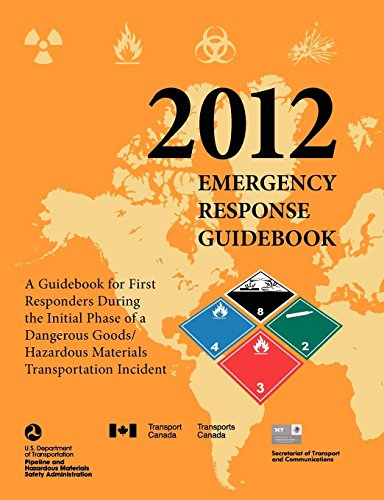 9781782661658: Emergency Response Guidebook 2012: A Guidebook for First Responders During the Initial Phase of a Dangerous Goods/ Hazardous Materials Transportation