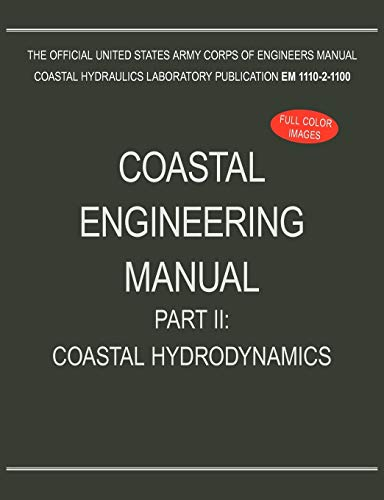 coastal engineering manual part ii coastal hydrodynamics em 1110 2 rh abebooks com usace engineering manual em 385-1-1 usace manual em 385-1-1