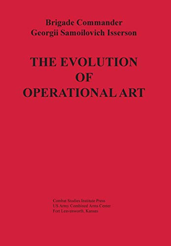 9781782664406: The Evolution of Operational Art